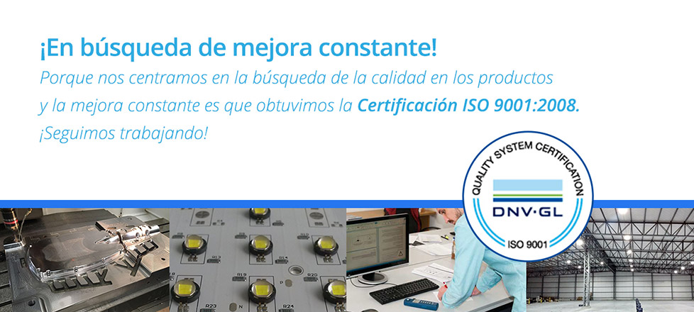 Banner ISO 9001
